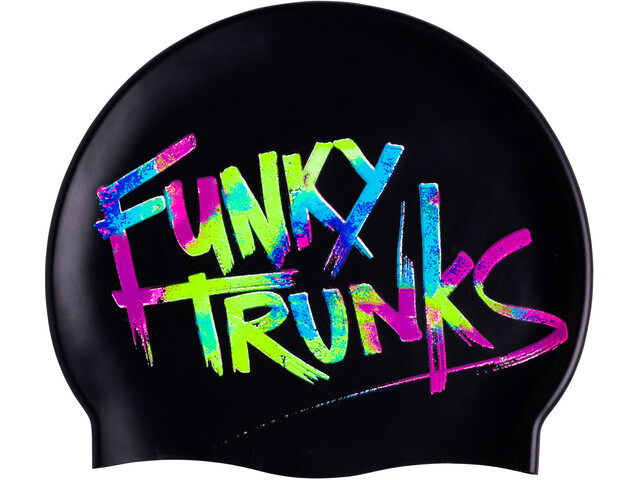 Funky Trunks Silicone Bonnet de bain, trunk tag